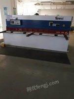 安徽芜湖亚威3.2米套装亚威pbh110/3100电液折弯机4+1轴,6/3200剪板机出售,全新未用