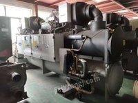 北京昌平区上海赢稷制冷大量现货中央空调机组螺杆机系列95成新出售