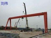 10吨22米腿高10米全包箱龙门吊