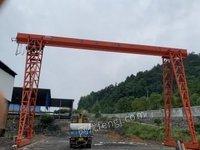 湖南长沙客户违约不要了5吨龙门吊,全新未出厂,客户违约,现低价出售处理。