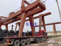 山东临沂二手双主梁龙门吊32吨跨度22+5+6米降价处理
