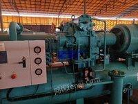 山东淄博出售4台低温盐水机组,制冷量:431KW