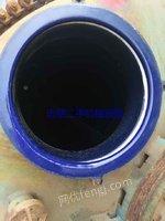 新疆哈密销售二手搪瓷反应釜  5吨  6.3吨  10吨等各种规格