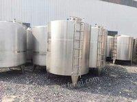 转让储罐,化工设备5立方全新不锈钢储罐,20,30立方不锈钢二手储罐