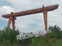 40+40/10吨,垮度40米,各旋14米。升高30米一台出售
