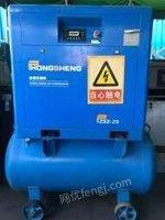 广东佛山二手空压机15kw一体式螺杆机静音空压机低价转让