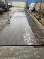 重庆合川3*12米120吨二手地磅 因业务转移急售