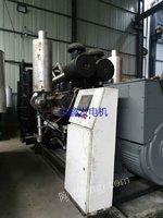 转售销售三台二手700千瓦柴油发电机组