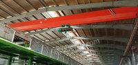 浙江杭州二手QD双梁行车25吨跨度22.5米急处理