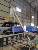 广东中山转让生产中的准新机申达se280t,1250t 机器含机械手,上料机,搅拌罐,气泵,全新液压油等等。