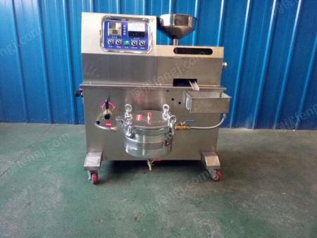 供应河南许昌长葛鄢陵菜市场用的香油机现榨现卖芝麻加工机器