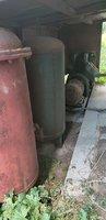 河北石家庄出售1台闲置37KW空气压缩机带两个储气罐 看货议价.