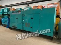 广东惠州二手发电机静音进口440kw电友小松柴油发电机组靓出售