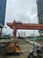 二手45吨龙门吊跨度34.5米浙江处理