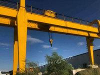 二手32吨双主梁龙门吊25+8+8米北京转让