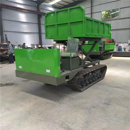 供应农用自卸履带运输车 厂家自制山地履带运输车
