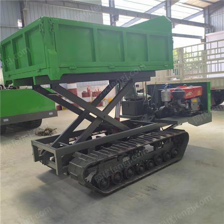 供应小型多功能履带运输车 液压马达履带运输车