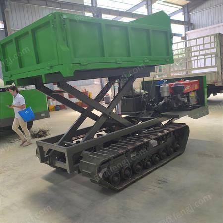 供应履带运输车 液压自卸履带运输车