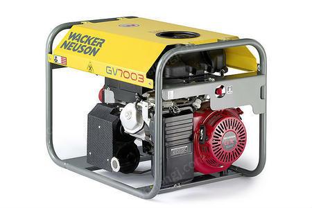 供应工地施工/可靠供电GV7003A同步发电机
