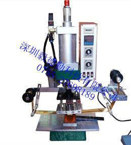 供应多功能自动烫金机竹木制品皮革塑胶塑料商标烙印木柄烫金机