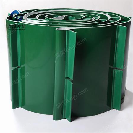 供应绿色挡板pvc输送带