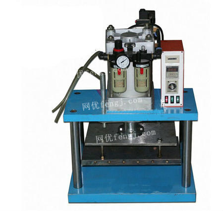 供应台式气动烙印机竹木厨具家具皮革塑料工艺品商标logo烫印烫金机