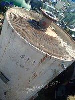 出售二手螺旋板换热器,60平方,不锈钢材质