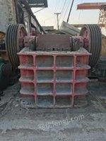 山东淄博低价转让250*750大通颚式破碎机一台