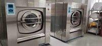 福建福州转让二手航星水洗机二手洗衣房设备二手烫平机二手高烫