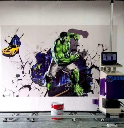 供应小本创业设备墙面墙体打印机