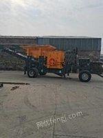 河北邢台移动破碎机 建筑垃圾鹅卵石粉碎机制砂机出售