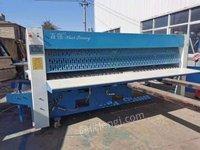 河南郑州出售二手折叠机百强折叠机五滚二手烫平机海狮水洗机
