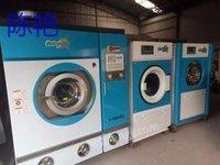 安徽亳州低价售全套洁希亚二手干洗店设备四氯乙烯干洗机洗脱机烘干机