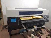 安徽芜湖创业使用面料数码印刷机,双工位出售
