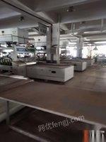 浙江宁波转让灿高高频拼板机6.2米A字型拼机拼板机二手拼板机