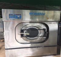 山东青岛出售100公斤上海沃勋洗脱机烘干机二手水洗设备