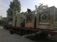 山东淄博转水洗厂二手洗涤设备300磅节能快速烘干机