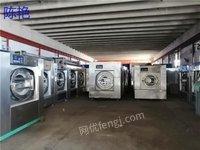贵州安顺售二手洗衣厂设备四棍烫平机折叠机烘干机