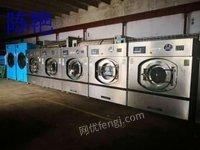 河北石家庄转全套洗衣店二手设备洁希亚四氯乙烯干洗机洗脱机15公斤烘干机
