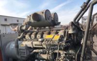 辽宁丹东低价出售一台500千瓦和一台800千瓦帕金斯