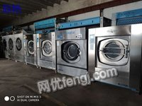 辽宁葫芦岛转宾馆布草洗涤设备九成新设备洗床单二手水洗机