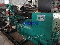 二手柴油发电机组低价销售原装300千瓦二手发电机组