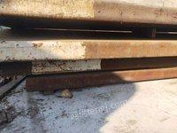 江苏昆山出售废锰钢板料70吨