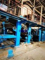 造纸厂整体转让1575黄板纸生产线3条