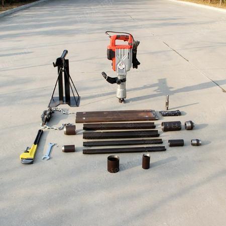 供应电动取土钻机SQT-20D 无水原状土样 小型多功能土壤取样钻机
