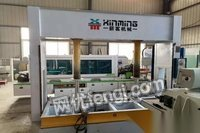 上海宝山区出售二手木工机械设备冷压机