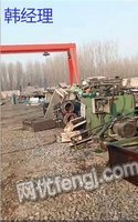 出售_液压站设备拆解废钢铁