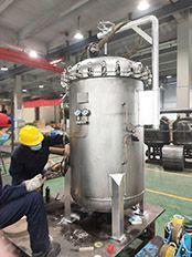 供应化工行业滤水不锈钢保安过滤器