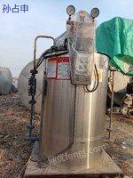 出售一台300公斤燃气蒸发器