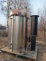 出售一套0.3吨燃气蒸发器